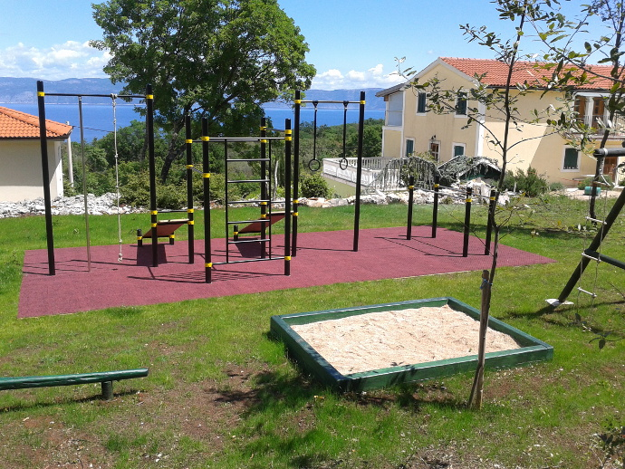 Spielplatz Trainingspark Istrien